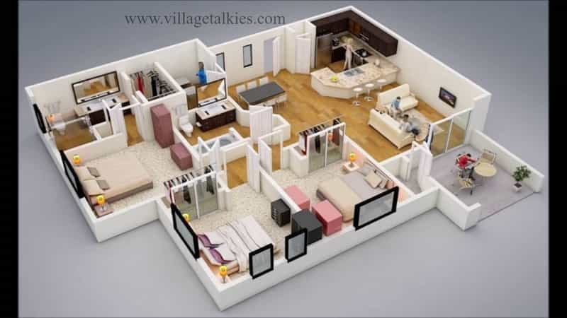 Our company offers 3D Architectural walkthrough services in Bangalore & Chennai